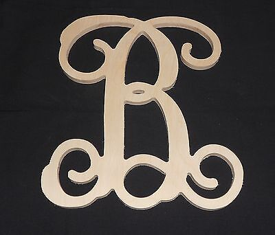 15 wooden vine letter unfinished wood letters room decor