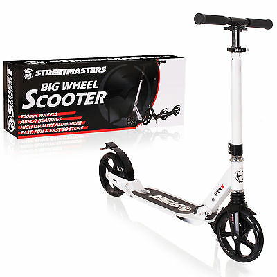 Streetmasters 200Mm Travel Commuter Adult Big Wheel Scooter - Ideal Xmas Present
