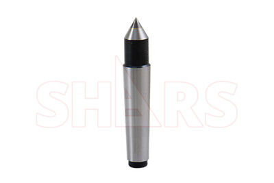 SHARS 2MT Carbide Morse Taper Solid Dead Center NEW