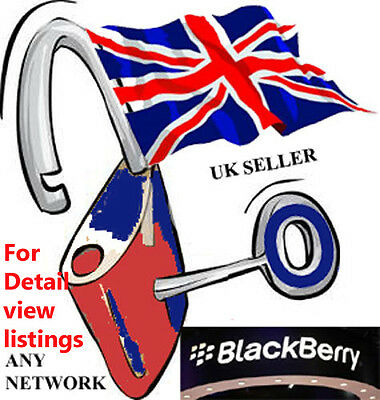 Blackberry Unlock Code for any model bold curve torch 8520 9300 9700 9800 9810