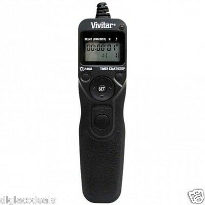 Universal LCD Remote Shutter Release fits Sony A580 A560 A400 Pentax K20D K10D