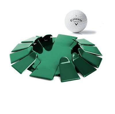 Green All-Direction PRACTICE Putting Cup CAN BE USED AND CARRIED ANYWHERE