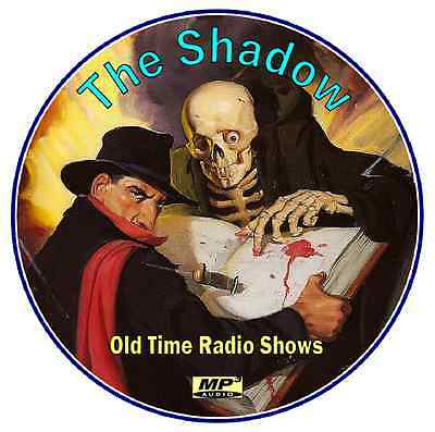 THE SHADOW - 261  Old Time Radio Shows - ALL Known Episodes - MP3 DVD_CD
