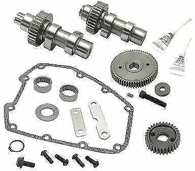 S S Cycle 585G Grind Gear Drive Cam Gears Kit .585 Lift Harley Twin Cam 07-16