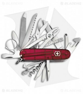 Victorinox Swiss Army Knife, Swisschamp, Ruby Red, Victorinox 53506, New In Box
