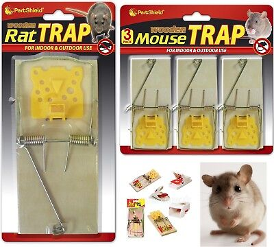 Mouse / Mice / Rat Rodent Trap Pest Control Live Catch / Killer Kill  / Reusable