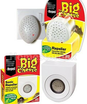 Plug In Sonic Pest Control Ultrasound Repeller Repellent For Mouse Mice Rat
