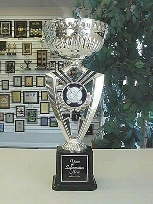 Golf Silver Cup Individual Award Super Cool Award Trophy!  Free Engraving