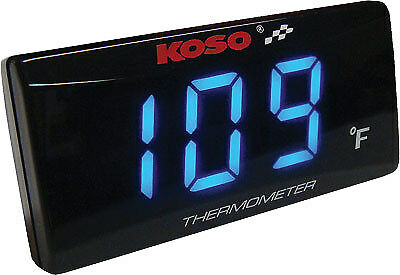 Koso North America Koso Super Slim Water Temperature Gauge BA024B11 2212-0312