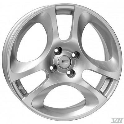 "16"" Alfa Romeo Sport Replacement Alloy Wheels Brand New Silver 255"