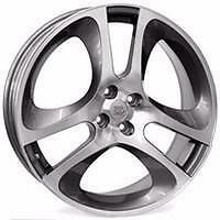 "16"" Alfa Romeo Sport Replacement Alloy Wheels Brand New Gunmetal Polished 255"