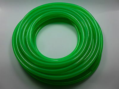 """50' 1/4""""ID / 6mm Fast Flow Fuel Line for Cycle/ATV/Jetski/Snowmobile/Cart GREEN"""