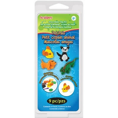 Sculpey Clay PET PALS Activity Set. Oven Bake Modelling Clay for Art & Craft.
