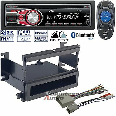 JVC CAR RADIO STEREO CD PLAYER DASH INSTALL MOUNTING KIT HARNESS ANTENNA