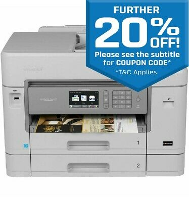 Brother MFC-J5930DW All-in-one Inkjet MultiFunction Wireless Printer Copy Scan