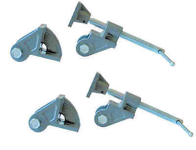 Lot de 2 têtes de serre-joints dormants