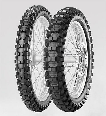 Pirelli Scorpion Mx Hard Rear Motorcycle Tyre 100/90-19 - Enduro 61-166-18