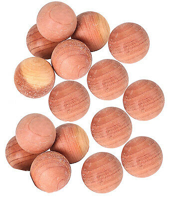 Moth balls mildew repellent deterant natural cedar wood wardrobes clothes drawer