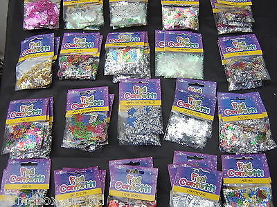 Table Confetti Sprinkles Age Birthday Wedding Party Anniversary Occasions Foil