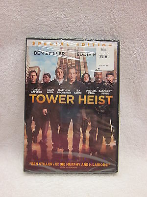 Tower Heist  DVD 2012 Rated PG-13 1 hour and 45 mins.