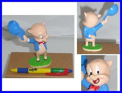 RARE Italian Figure PORKY PIG Cute De Agostini LOONEY TUNES COLLECTION Mint !!!!