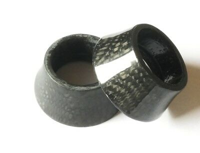 "15mm 20mm  1-1/8"" Tapered voll Carbon Headset  Spacer"
