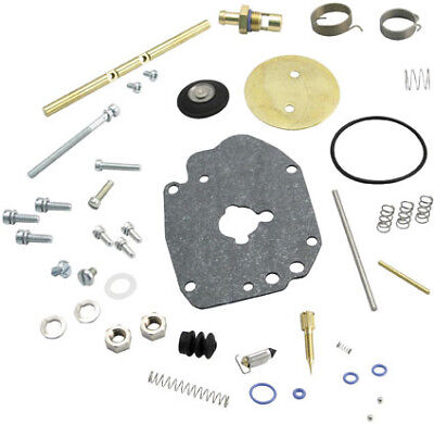 S S Cycle SS Cycle - 11-2923 - Super E Carburetor Master Rebuild Kit 49-9619