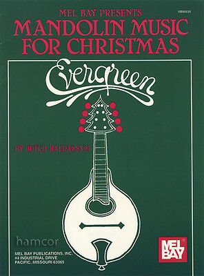 Mandolin Music for Christmas Evergreen TAB Sheet Music Book