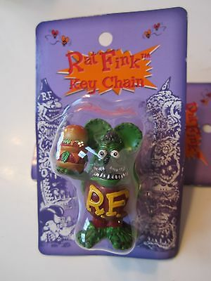 RAT FINK COLLECTIBLE FIGURE  KEY CHAIN IN PACKAGE