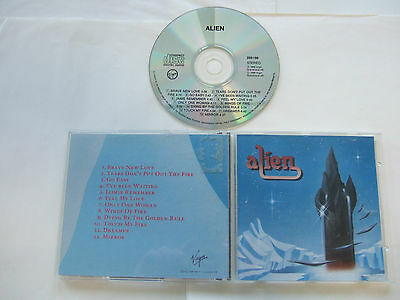 Alien - Alien  CD  1988 Virgin Scandinavia Rare