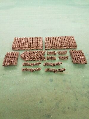 74 Stone Walling 00 Gauge Scenery Suit Train Coach Brand And New Boxed...
