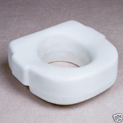 "NEW RAISED TOILET SEAT ELEVATED 5"" HEIGHT RISER USA"