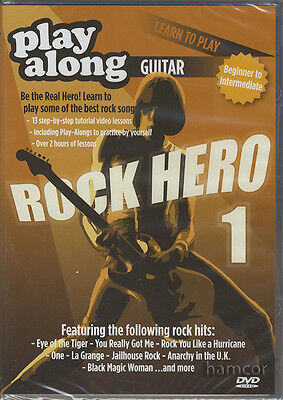 Rock Hero 1 Play Along Guitar DVD