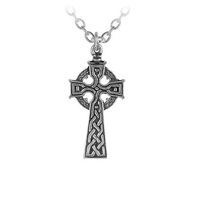 Alchemy Gothic Celt's Cross Pewter Pendant BRAND NEW