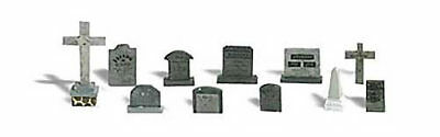 NEW Woodland Scenics Tombstones O A2726