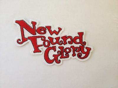 A New Found Glory Embroidered Iron-On Patch, NEW
