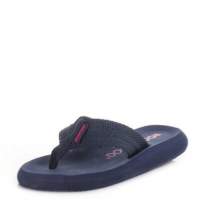 d7726d23e Womens Rocket Dog Sunset Navy Ladies Toe Post Flip Flops Sandals Size 3-8