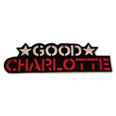 Good Charlotte Iron-On Patch, Military Style Applique NEW