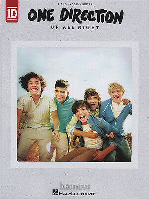 One Direction Up All Night Piano Vocal Guitar Sheet Music Book