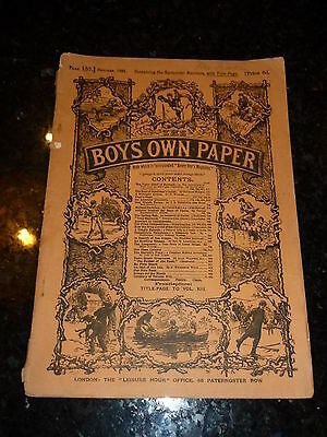 BOY'S OWN PAPER Comic - Part 152 - Vol XIII - Nos 660 too 663 - Date - 10/1891