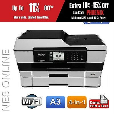 Brother MFC-J6920DW A3 Colour Inkjet Wireless MFP Printer+Light Damaged Box*RFB*