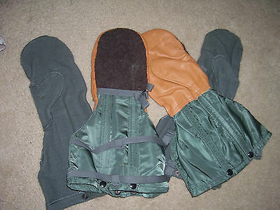 New Military Medium Artic Extreme Cold Weather Mittens & Liner Set