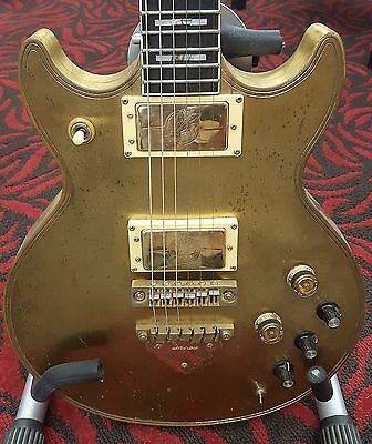 Vintage 1979 Solid Brass Ibanez Artist 2622 Guitar One of a Kind AND Functional!