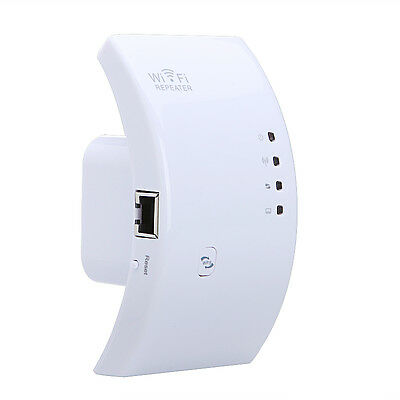 Wireless-N Wifi Repeater 300Mbps Extender Network Router Range Booster US