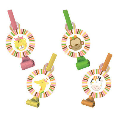 Sweet At One Girl Blowouts Pk 8 (Assorted Designs)
