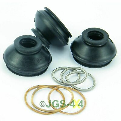 Land Rover Defender Track Rod End Rubber Boot Kit x3