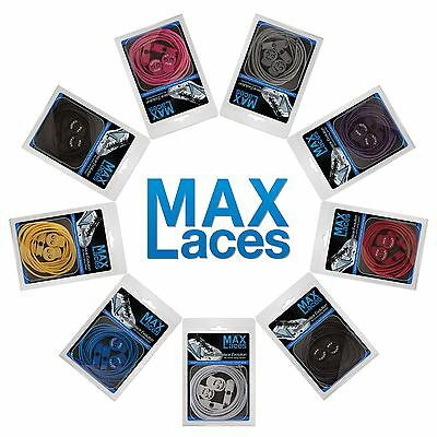 MAXLACES Elastic Shoe Laces High Quality Lock Laces Triathlon Running Sports