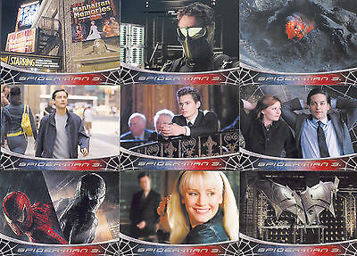 Spider-Man Movie 3 2007 Rittenhouse Archives Complete Base Card Set Of 79 Marvel