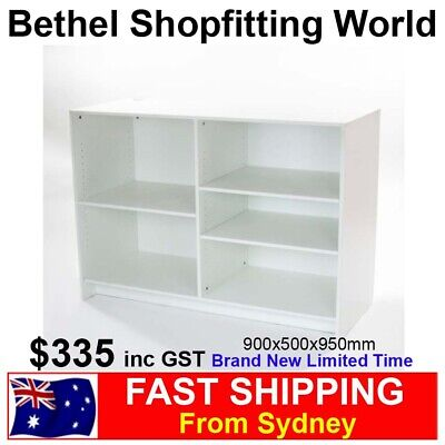 Point of Sale White Timber Counter FOR Convenience Supermarket Pharmacy New!