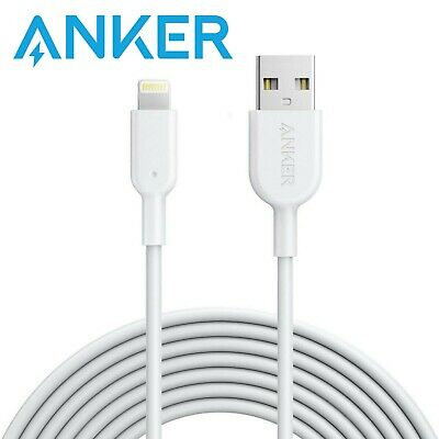 Anker PowerLine II Lightning 3.0m Cable for iPhones - White
